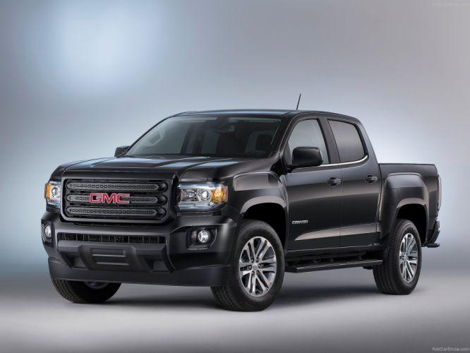 2015 GMC Canyon Nightfall Edition pickup truck cars wallpaper