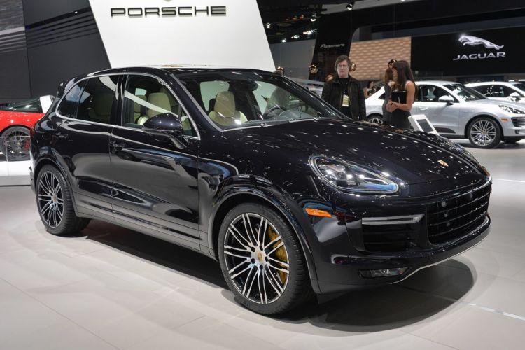 cars Cayenne Porsche suv Turbo s 2015 wallpaper