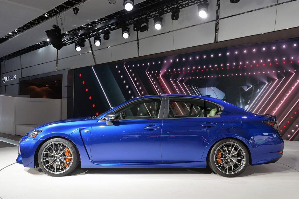 2016 Lexus GS-F cars sedan wallpaper