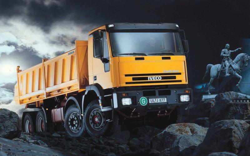 Iveco Eurotrakker Tipper Truck wallpaper