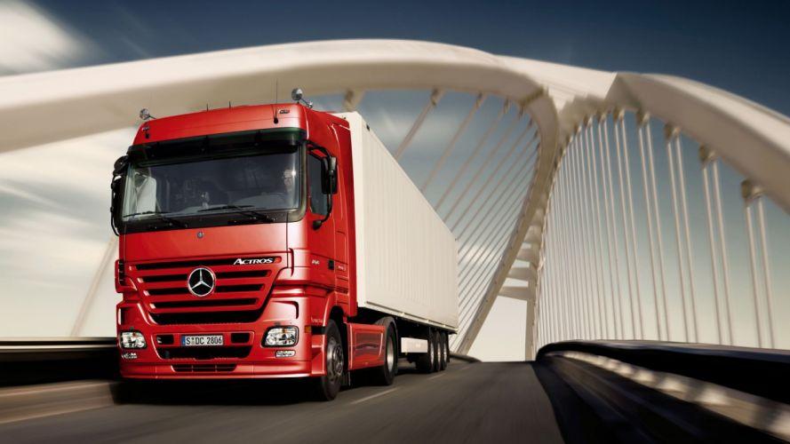 Mercedes Truck wallpaper