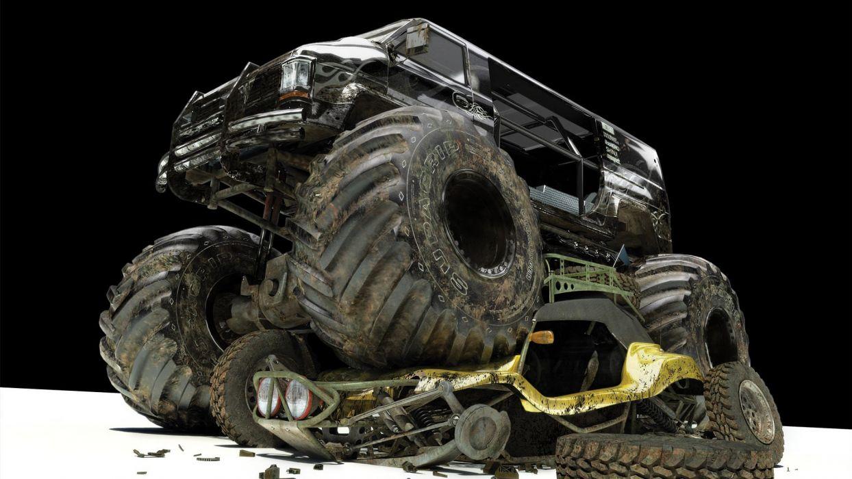 Monster Trucks wallpaper