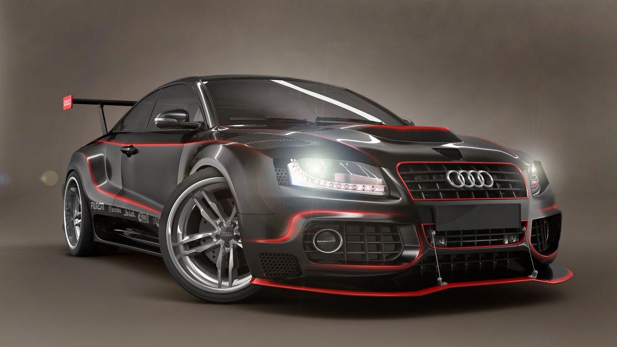 Audi Tuning Wallpaper Hd Wallpaper 1920x1080 584862
