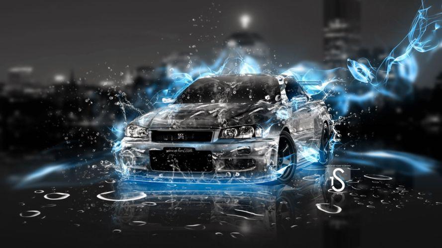 Nissan Skyline GT R Sky Energy wallpaper
