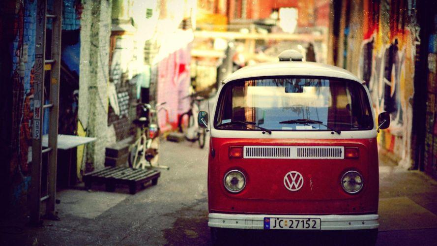 Volkswagen Vintage wallpaper
