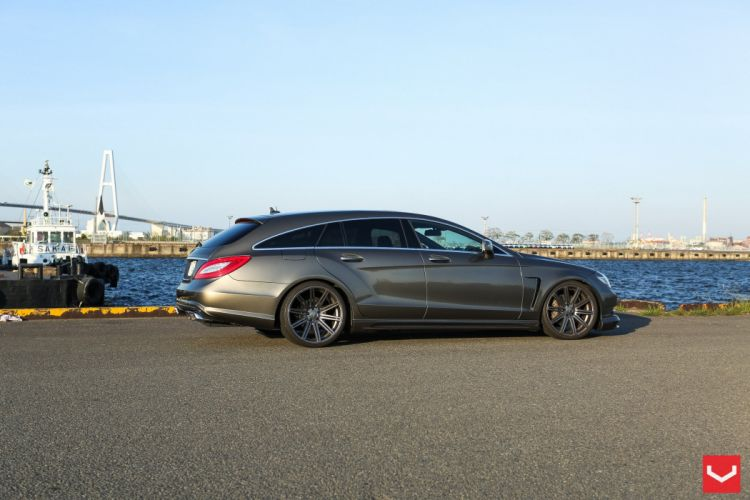 2014 ADV1 Mercedes cls Shooting Brake wagon Tuning wheels cars wallpaper