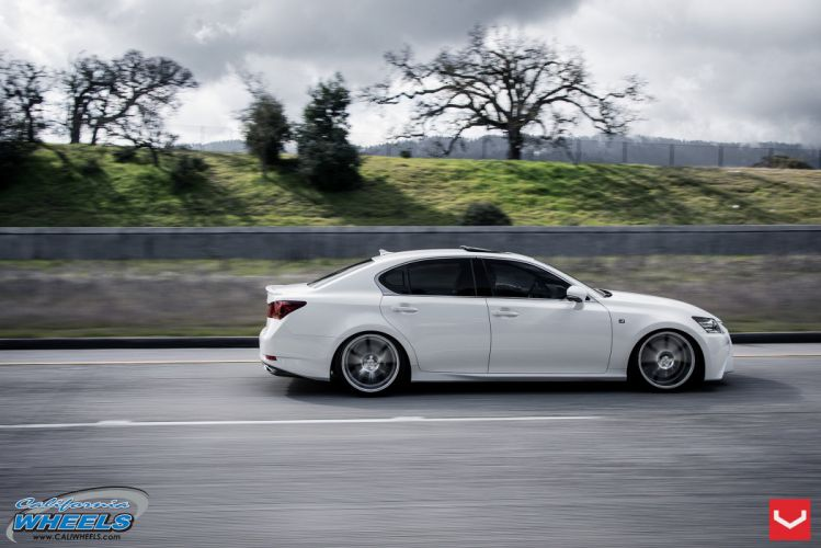 2014 vossen Lexus GS sedan Tuning wheels cars wallpaper