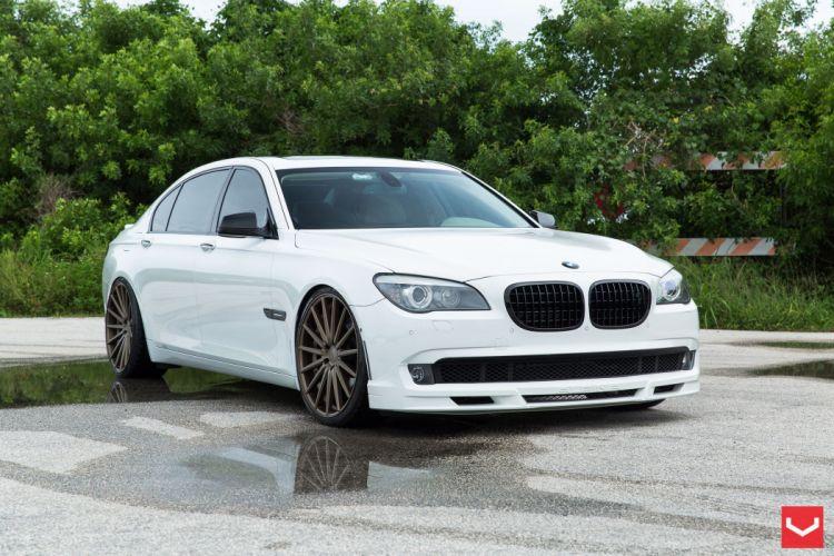 2014 vossen BMW 7 Series sedan Tuning wheels cars wallpaper
