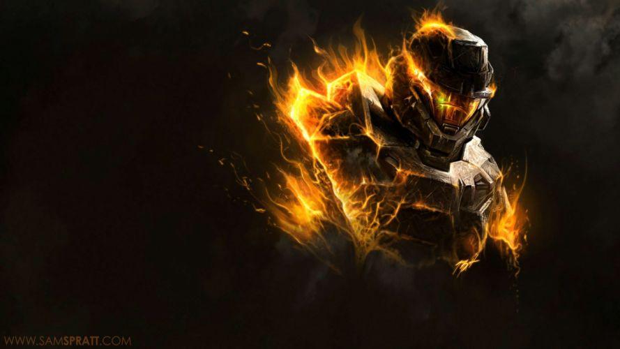 HALO 5 GUARDIANS shooter fps action fighting sci-fi warrior series war 1haloguardians warrior wallpaper