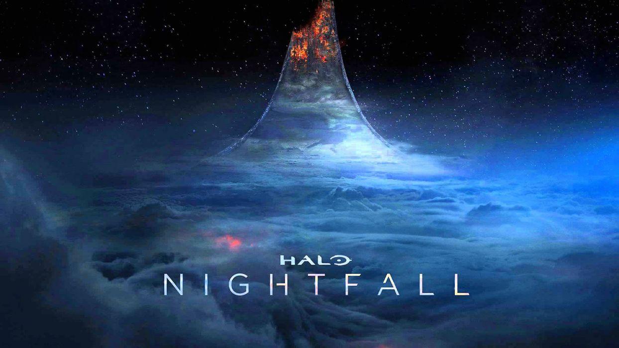 Halo Nightfall Sci Fi Futuristic Action Adventure Series Fighting War Zbox Microsoft 1halonightfall Poster Fantasy Wallpaper 1920x1080 585098 Wallpaperup