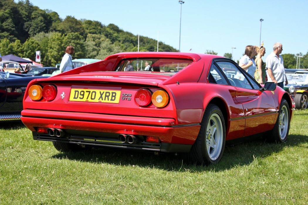 Ferrari 328 gtb gts coupe cars italia wallpaper