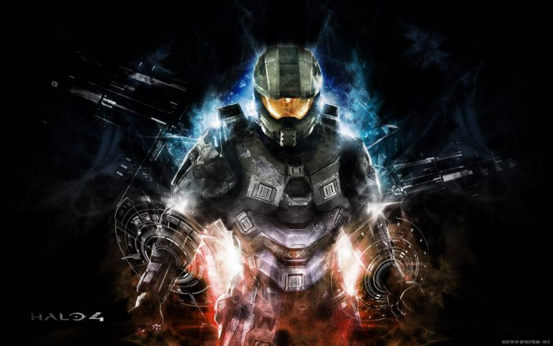 HALO Master Chief Collection sci-fi shooter action futuristic fps war fighting 1halomasterchief warrior wallpaper