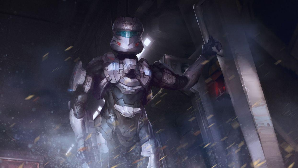 HALO SPARTAN STRIKE shooter fps action fighting sci-fi 1spartan strike futuristic warrior weapon gun wallpaper