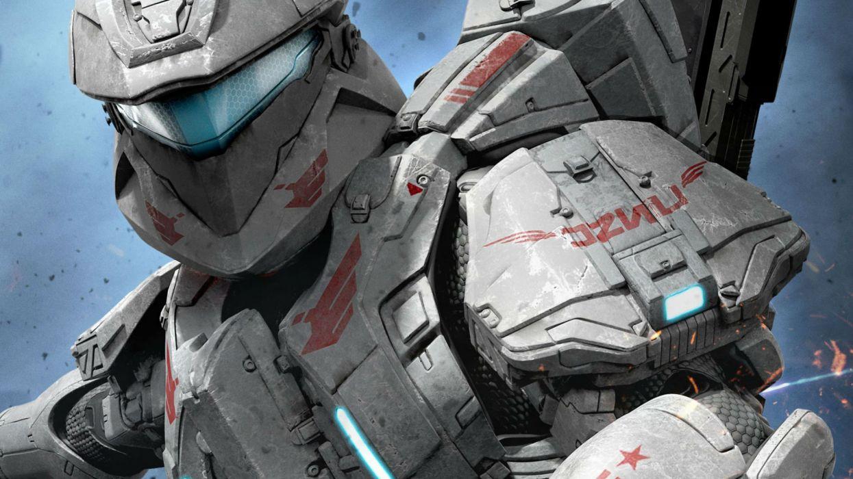 HALO SPARTAN ASSAULT shooter fps action futuristic fighting 1spartanassault wallpaper