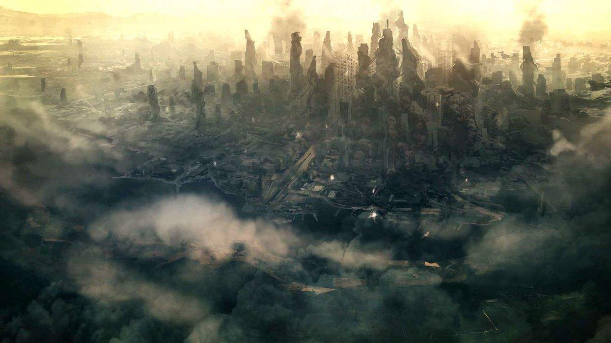 HALO SPARTAN ASSAULT shooter fps action futuristic fighting 1spartanassault city cities wallpaper