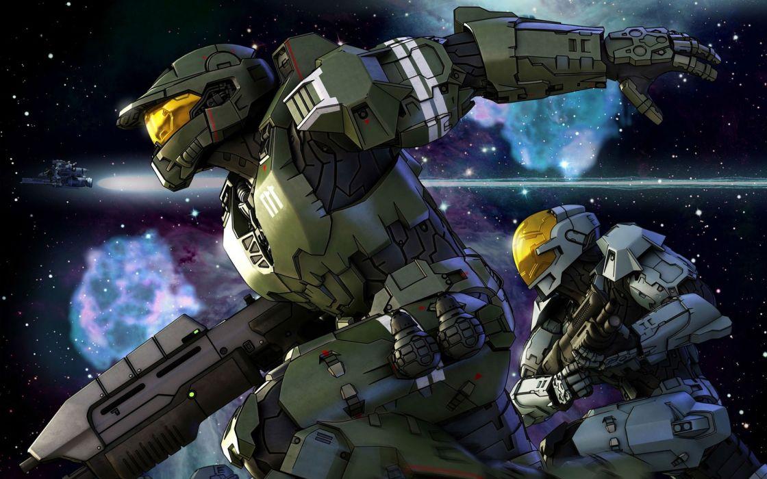 HALO SPARTAN ASSAULT shooter fps action futuristic fighting 1spartanassault warrior weapon gun wallpaper