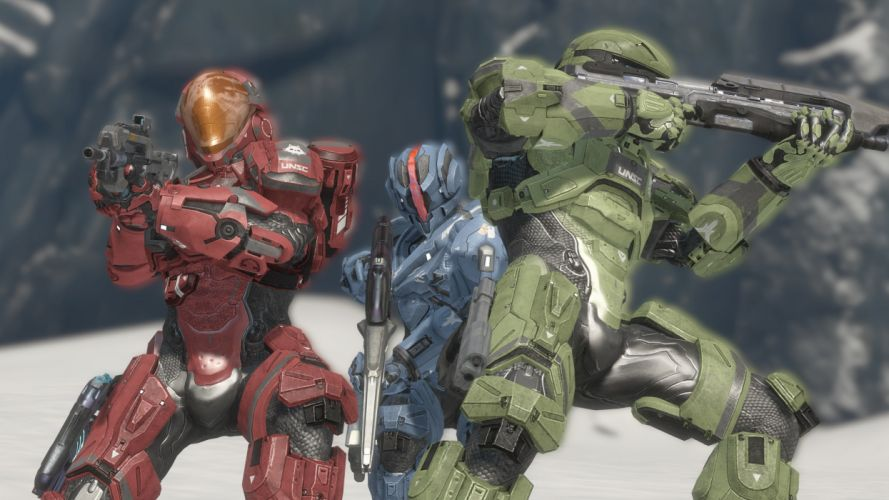 HALO SPARTAN OPS shooter fps action futuristic fighting 1spartanops warrior weapon gun wallpaper