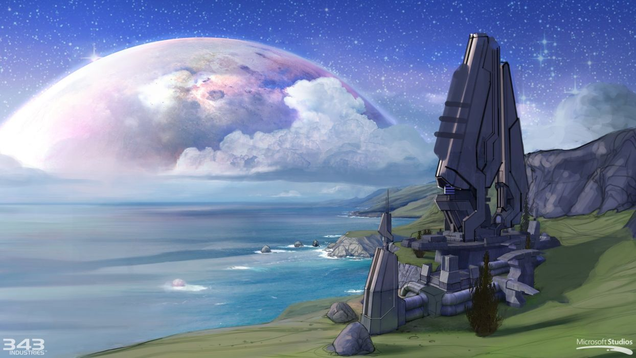 HALO COMBAT EVOLVED shooter fps action sci-fi futuristic 1combatevolved wallpaper