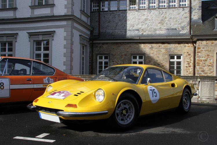 1969 Dino Ferrari 246gt gts coupe classic cars italia wallpaper