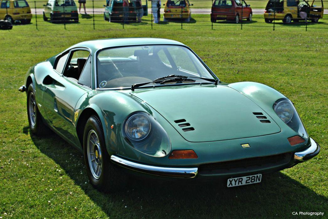 1969 Dino Ferrari 246gt Gts Coupe Classic Cars Italia