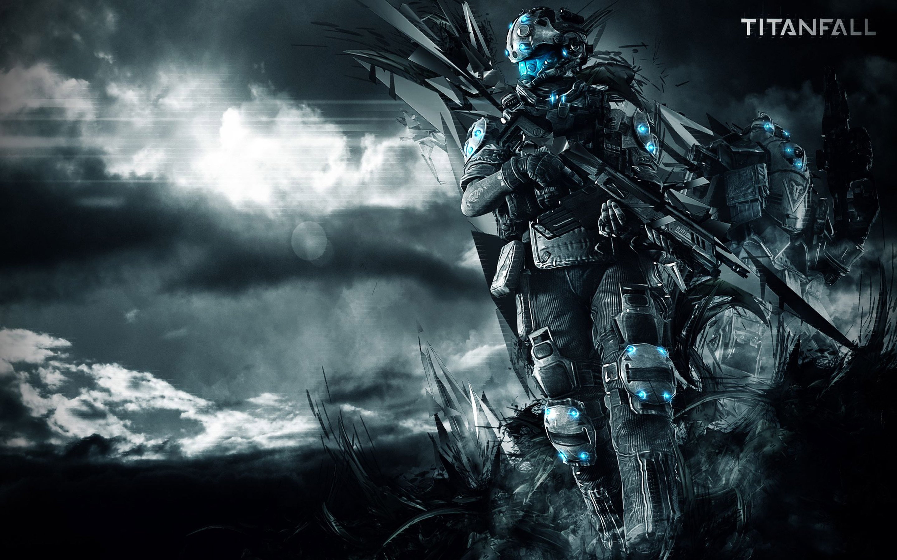 TITANFALL Shooter Fps Action Futuristic Online Mmo