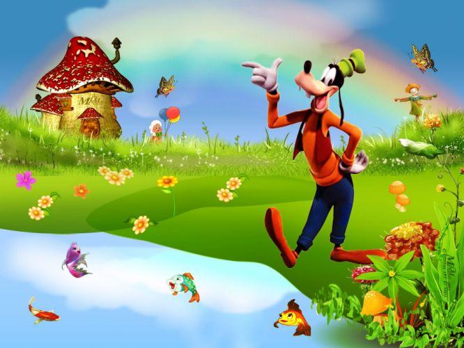 GOOFY disney family animation fantasy 1goofy comedy wallpaper