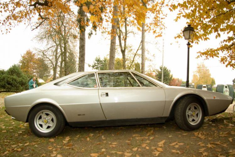Ferrari Dino 308 GT4 coupe classic cars italia wallpaper