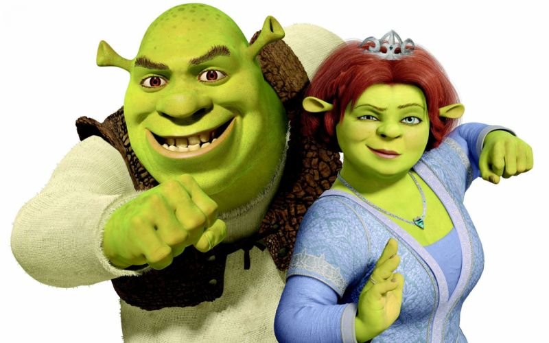 SHREK animation adventure comedy fantasy family 1shrek cartoon wallpaper