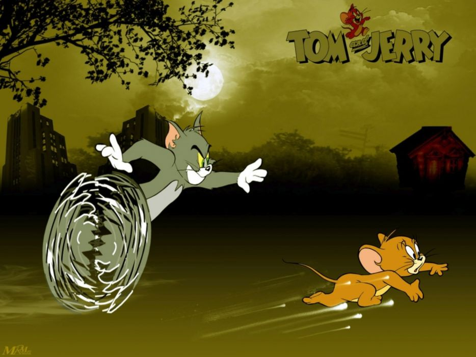 TOM JERRY animation cartoon comedy family cat mouse mice 1tomjerry wallpaper