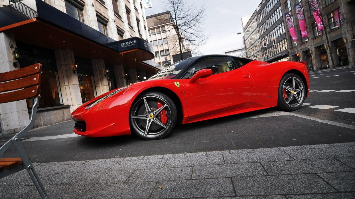Ferrari 458 Italia Wallpaper Hd wallpaper