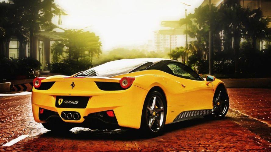 Ferrari Wallpaper Hd wallpaper