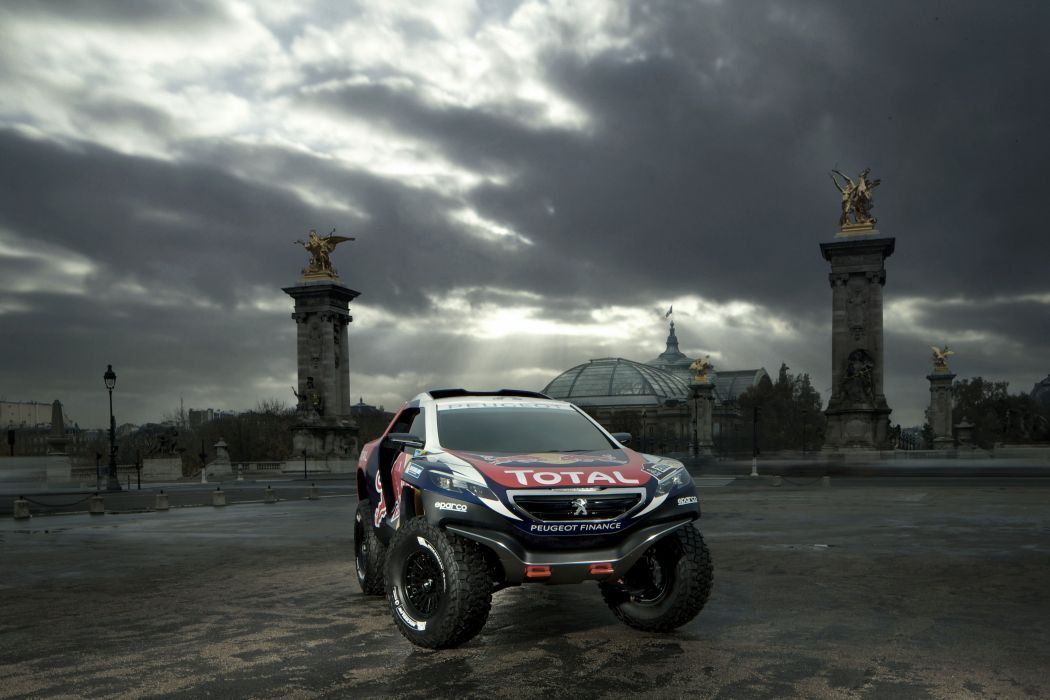 2014 Peugeot 2008 DKR dakar offroad race racing awd 4x4 wallpaper