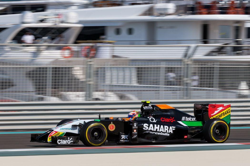 2014 Force India VJM07 F-1 formula race racing wallpaper