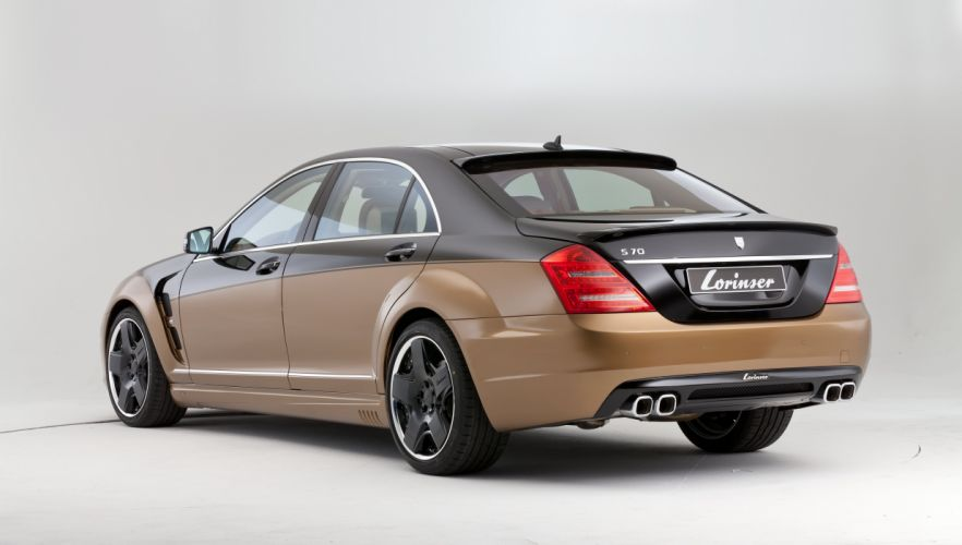 2012 Mercedes Benz Lorinser S70 W221 tuning wallpaper
