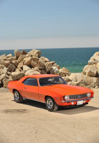 1969 Chevrolet Camaro ZL1 COPO muscle classic wallpaper