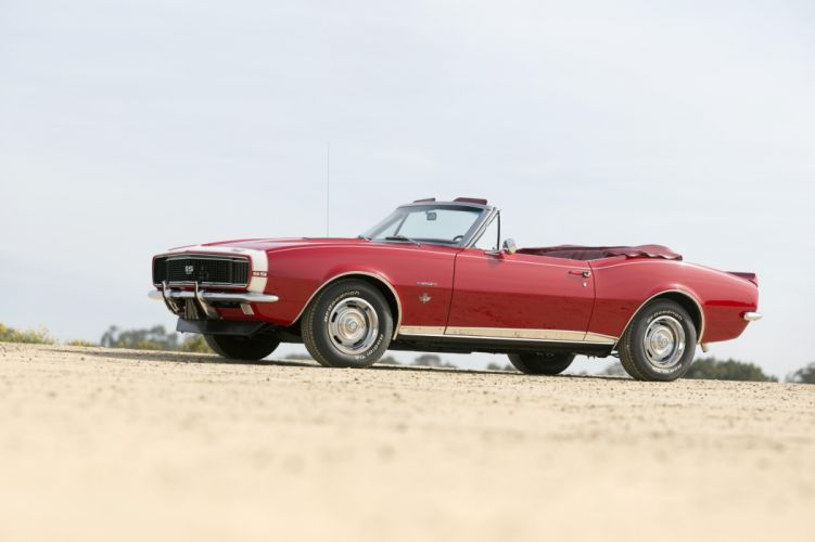 1967 Chevrolet Camaro R-S S-S 350 Convertible 12467 muscle classic wallpaper
