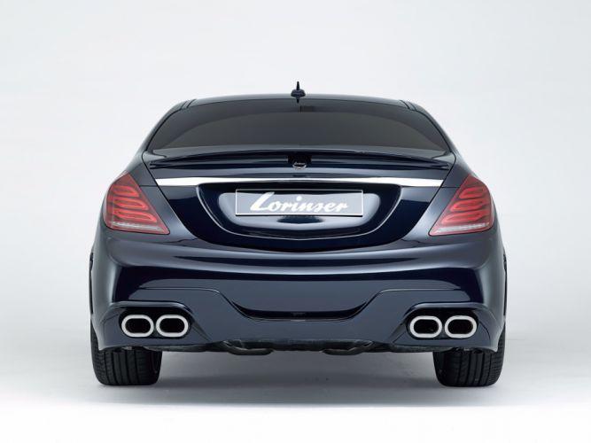 2013 Lorinser Mercedes Benz S-Klasse W222 tuning wallpaper
