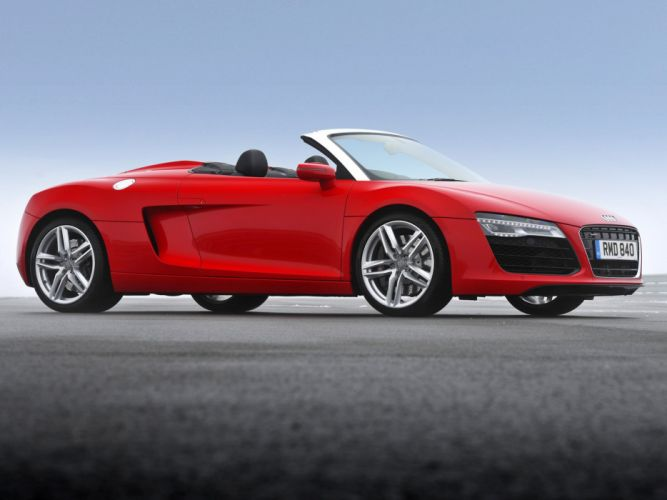 2013 Audi R-8 Spyder UK-spec wallpaper