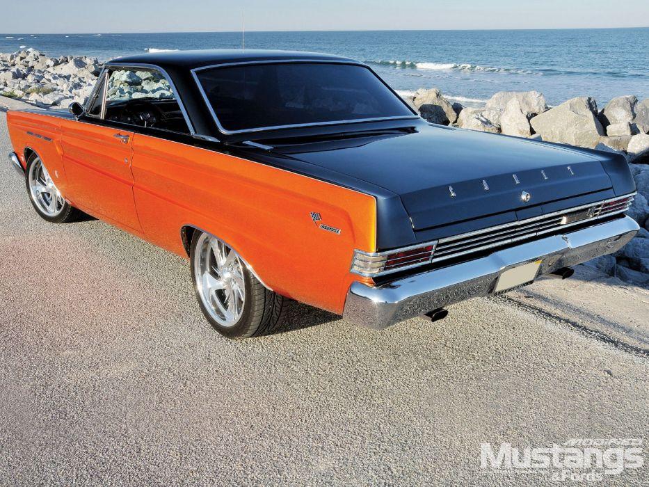 1965 Mercury Comet muscle classic hot rod rods wallpaper