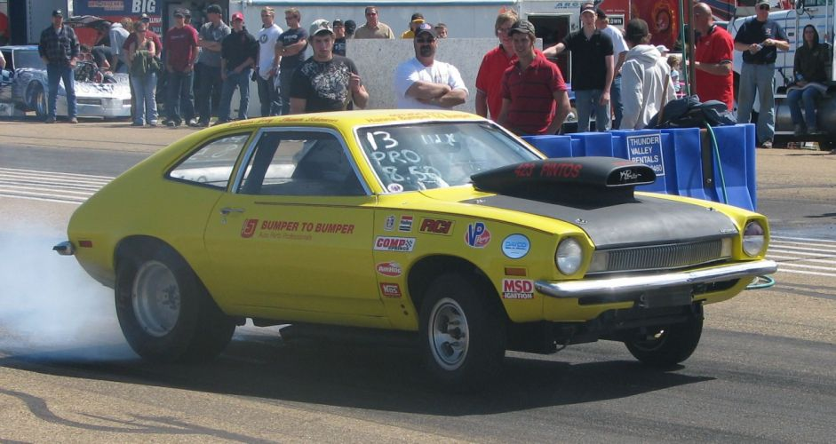Ford Pinto classic hot rod rods drag race racing wallpaper
