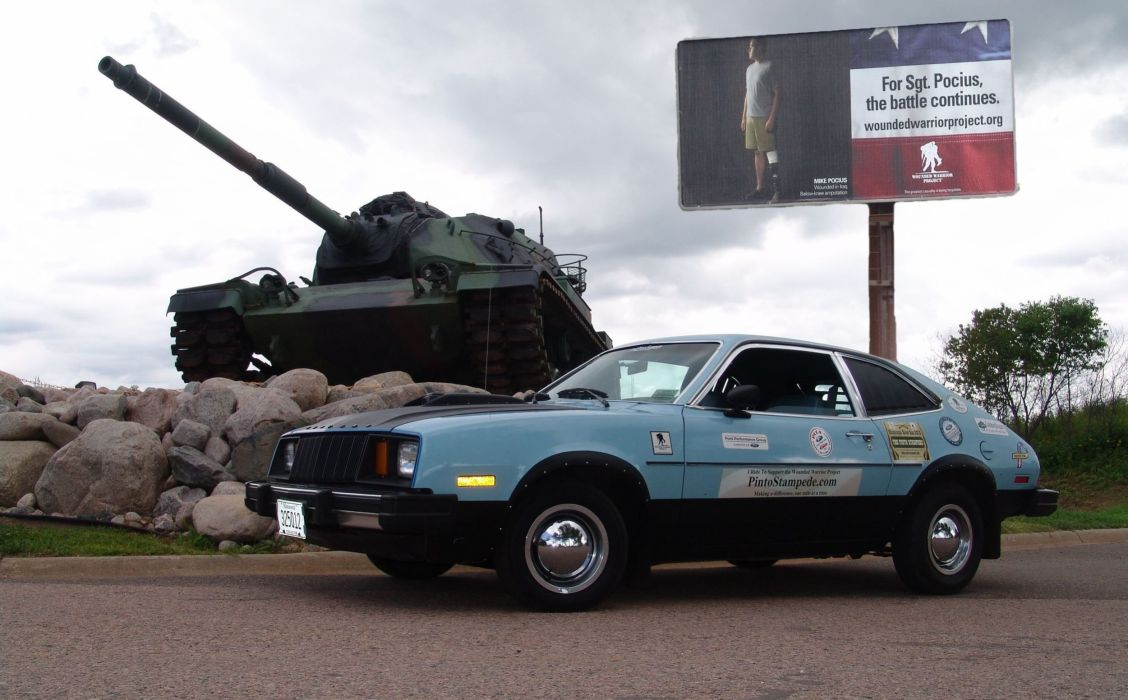 Ford Pinto classic tank hot rod rods drag race racing wallpaper