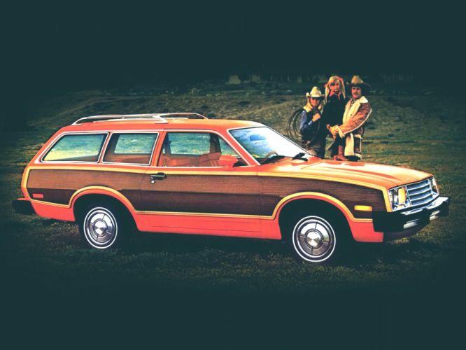Ford Pinto classic stationwagon wallpaper