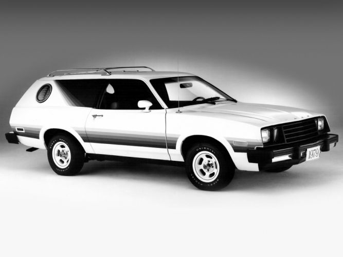 Ford Pinto classic stationwagon wallpaper