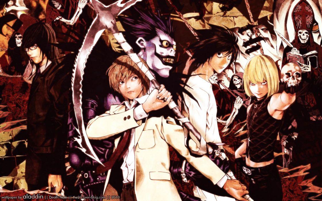 Death Note Series L Character Mello wallpaper