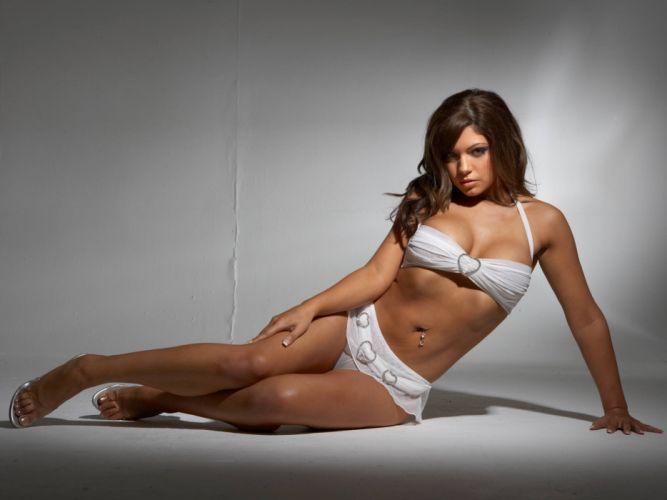 beauties fatal Girl lingerie model sensual sexy wallpaper blonde brunette wallpaper