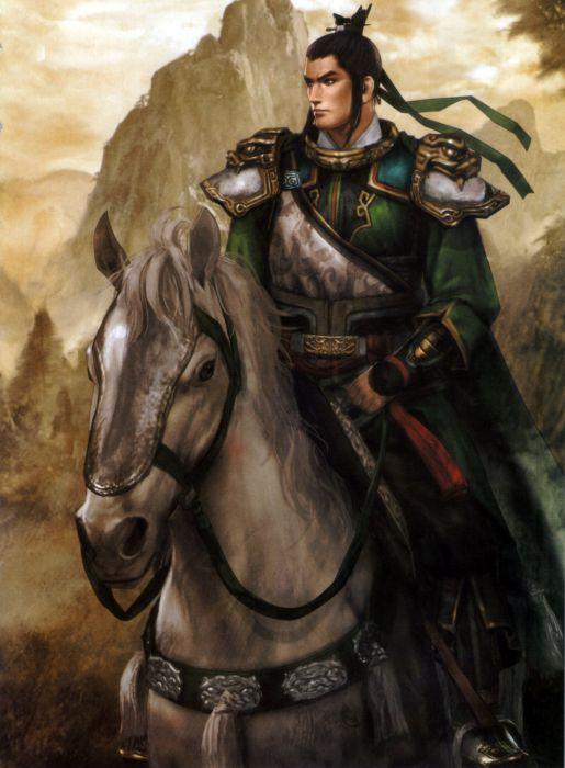 Dynasty Warriors Game Liu Bei Character horse warrior wallpaper