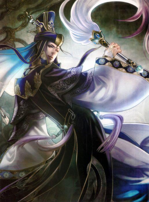 Dynasty Warriors Game Sima Yi Character wallpaper