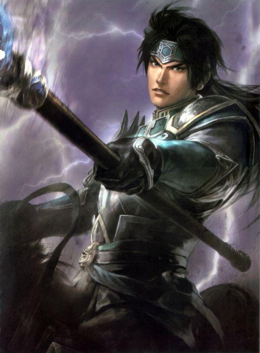 Dynasty Warriors Game Zhao Yun Character sword wallpaper