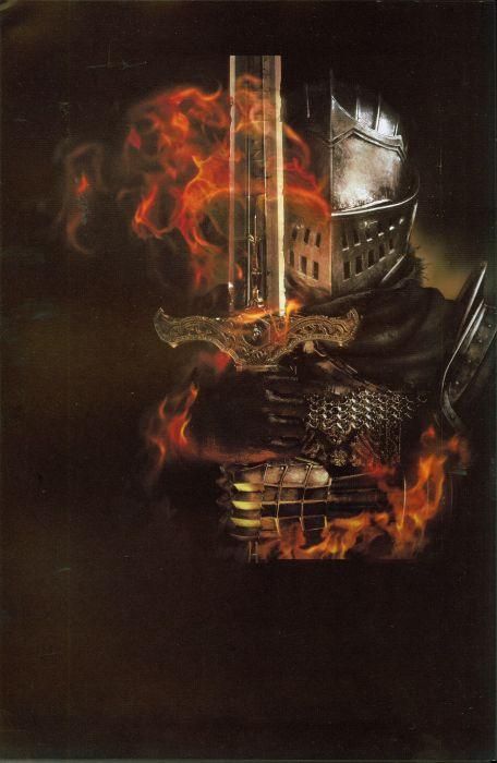 warrior sword From Software Studio Dark Souls Game fire sword wallpaper