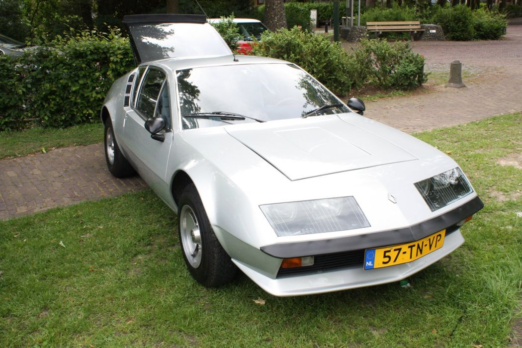 Renault Alpine A310 coupe classic cars wallpaper